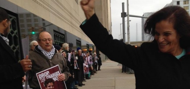 Members of the Rasmea Defense Committee from Chicago and Detroit / Dearborn just welcomed Rasmea back from 5 weeks in a Port Huron, Michigan, jail.  She arrived at the U.S. […]
